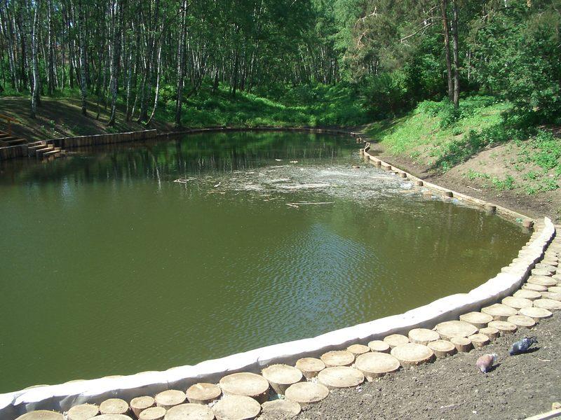 Как сделать пруд на реке