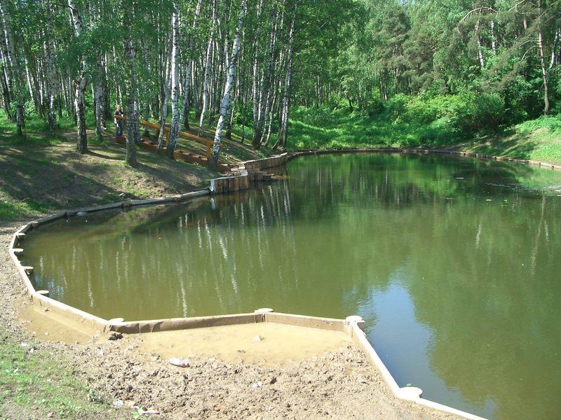 Как сделать озеро на реке 893